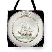 China - Dutch Ship 1756 Tote Bag by Granger