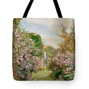 China Roses Tote Bag by Alfred Parsons