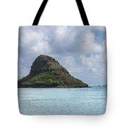 Chinamans Hat Panorama - Oahu Hawaii Tote Bag by Brian Harig