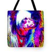 Chinese Crested Dog 20130125v1 Tote Bag by Wingsdomain Art and Photography