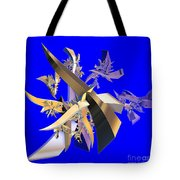 Chinese Puzzle Tote Bag by Brian Raggatt