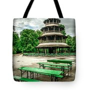 Chinesischer Turm I Tote Bag by Hannes Cmarits
