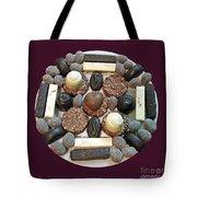 Chocolate Mandala Tote Bag by Ausra Paulauskaite