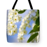Choke Cherry In Bloom Tote Bag by Gary Whitton