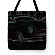 Chopped Merc Glow Tote Bag by Steve McKinzie