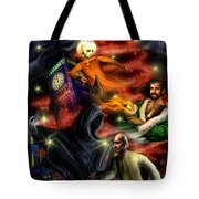 Christmas Greeting Card II Tote Bag by Alessandro Della Pietra