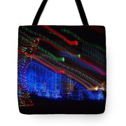 Christmas Lights Tote Bag by Dan Sproul