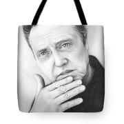 Christopher Walken Tote Bag by Olga Shvartsur