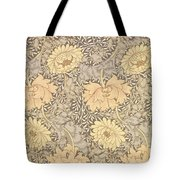 Chrysanthemum Tote Bag by William Morris