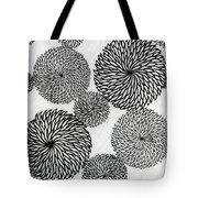 Chrysanthemums Tote Bag by Japanese School
