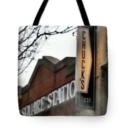 Chuck's Raleigh Tote Bag by Paulette B Wright