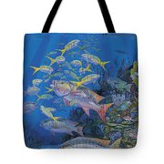 Chum line Re0013 Tote Bag by Carey Chen