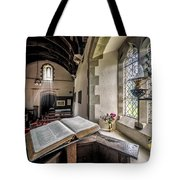 Church Chronicles Tote Bag by Adrian Evans