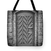 Church Door 02 Tote Bag by Antony McAulay