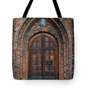 Church Door Tote Bag by Antony McAulay