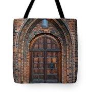 Church Door Tote Bag by Antony McAulay
