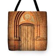 Church Door Helsingborg Tote Bag by Antony McAulay