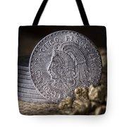 Cinco Pesos Still Life Tote Bag by Tom Mc Nemar