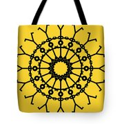 Circle 2 Icon Tote Bag by Thisisnotme