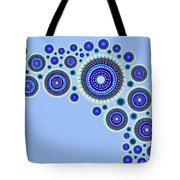 Circle Motif 117 Tote Bag by John F Metcalf