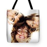 Circle Of Best Friends Tote Bag by Michal Bednarek