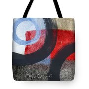 Circles 1 Tote Bag by Linda Woods