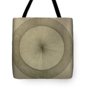 Circles Don't Exist Two Degree Frequency Tote Bag by Jason Padgett
