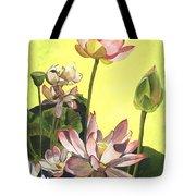 Citron Lotus 1 Tote Bag by Debbie DeWitt