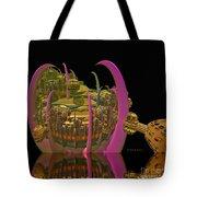 City 22 Tote Bag by Deborah Benoit