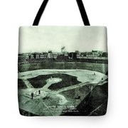 City Championship 1909 Tote Bag by Benjamin Yeager