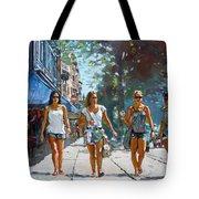 City Girls Tote Bag by Ylli Haruni