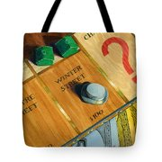 City Island Monopoly Iv Tote Bag by Marguerite Chadwick-Juner