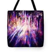City Nights City Lights Tote Bag by Rachel Christine Nowicki