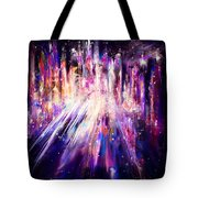City Nights City Lights Tote Bag by Rachel Christine Nowicki