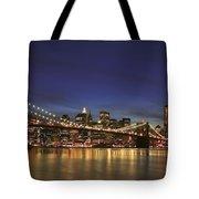 City Of Lights Tote Bag by Evelina Kremsdorf