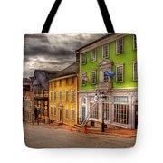 City - Providence Ri - Thomas Street Tote Bag by Mike Savad