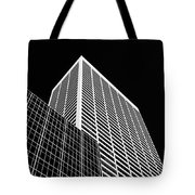 City Relief Tote Bag by Dave Bowman