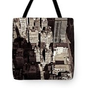 City Shadow Tote Bag by Dave Bowman