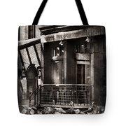 City - South Street Seaport - Bingo 220  Tote Bag by Mike Savad