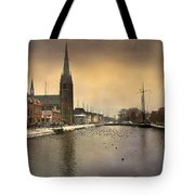 Cityscape Tote Bag by Annie  Snel