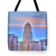 Cityscape Tote Bag by Kathleen Struckle