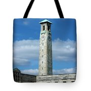 Civic Centre Southampton Tote Bag by Terri Waters