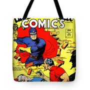 Classic Comic Book Cover - Mystery Men Comics - 1200 Tote Bag by Wingsdomain Art and Photography