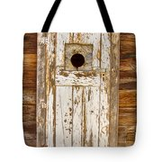 Classic Rustic Rural Worn Old Barn Door Tote Bag by James BO  Insogna