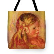 Claude Renoir Tote Bag by Pierre Auguste Renoir