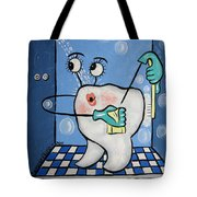 Clean Tooth Tote Bag by Anthony Falbo