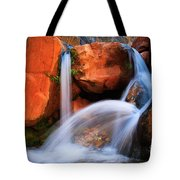 Clear Creek Falls Tote Bag by Inge Johnsson