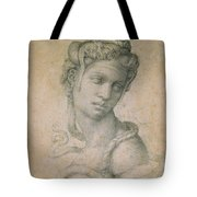 Cleopatra Tote Bag by Michelangelo