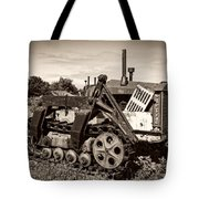 Cletrac Tote Bag by Debra and Dave Vanderlaan