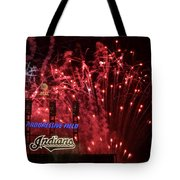 Cleveland Indians Tote Bag by Frozen in Time Fine Art Photography
